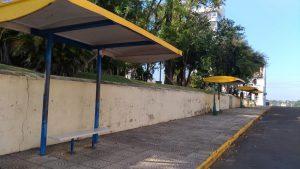 Transporte público está suspenso em todo o município