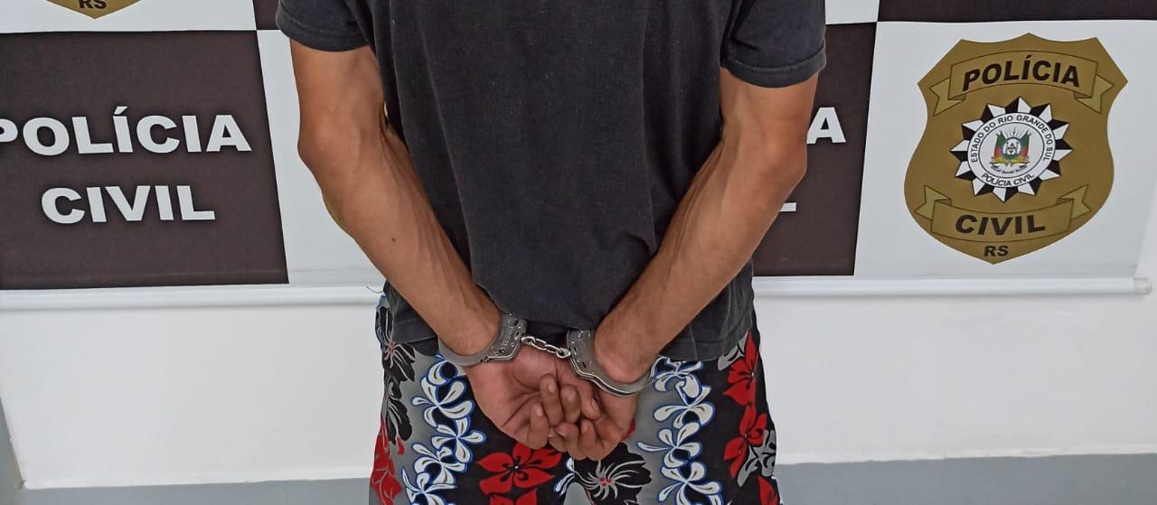 Suspeito de homicídio é preso em Estrela