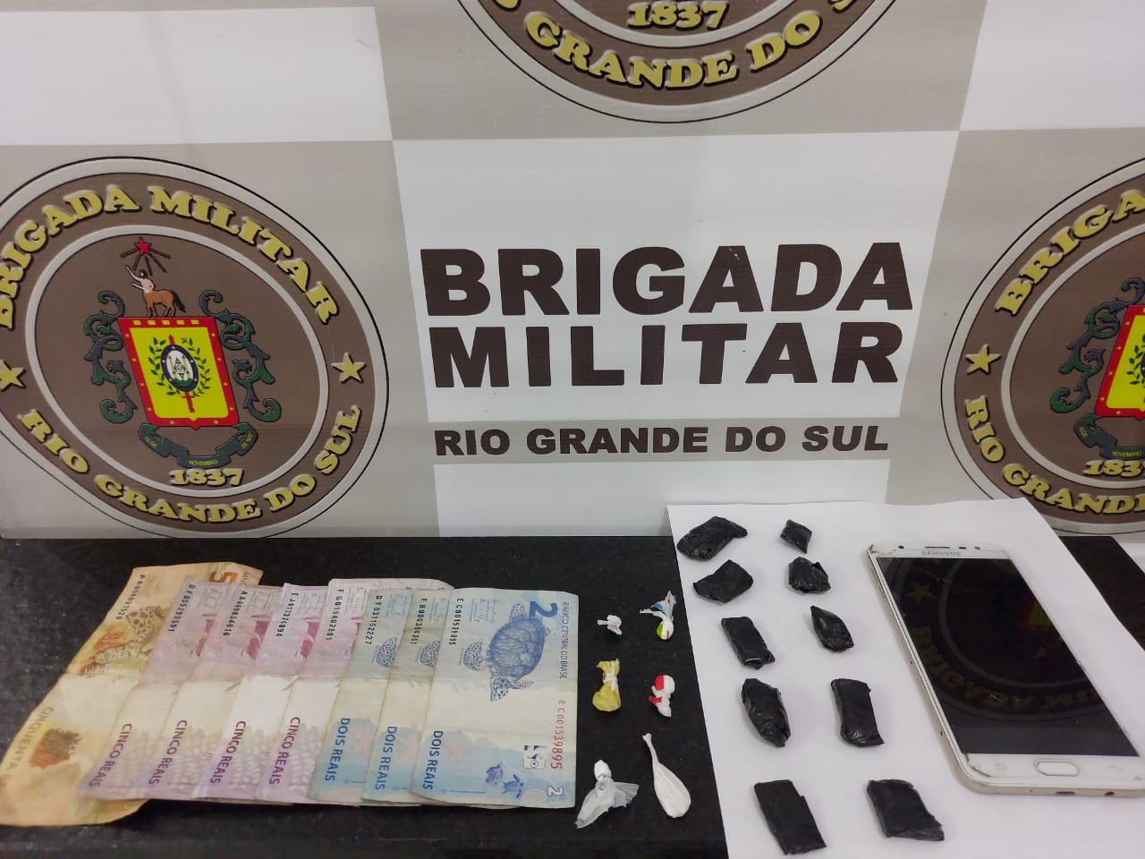 BM prende homem por tráfico de drogas em Bom Retiro do Sul