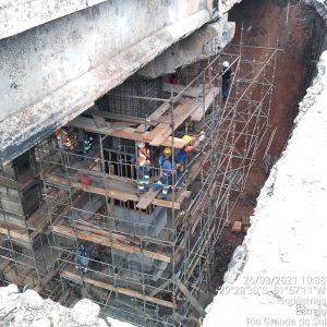 Resultado da análise de danos na ponte sai até o fim da semana
