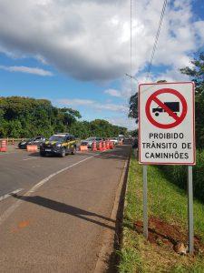 CCR adia liberação para caminhões no sentido capital-interior