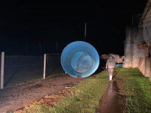 Bom-retirenses seguem sem energia elétrica