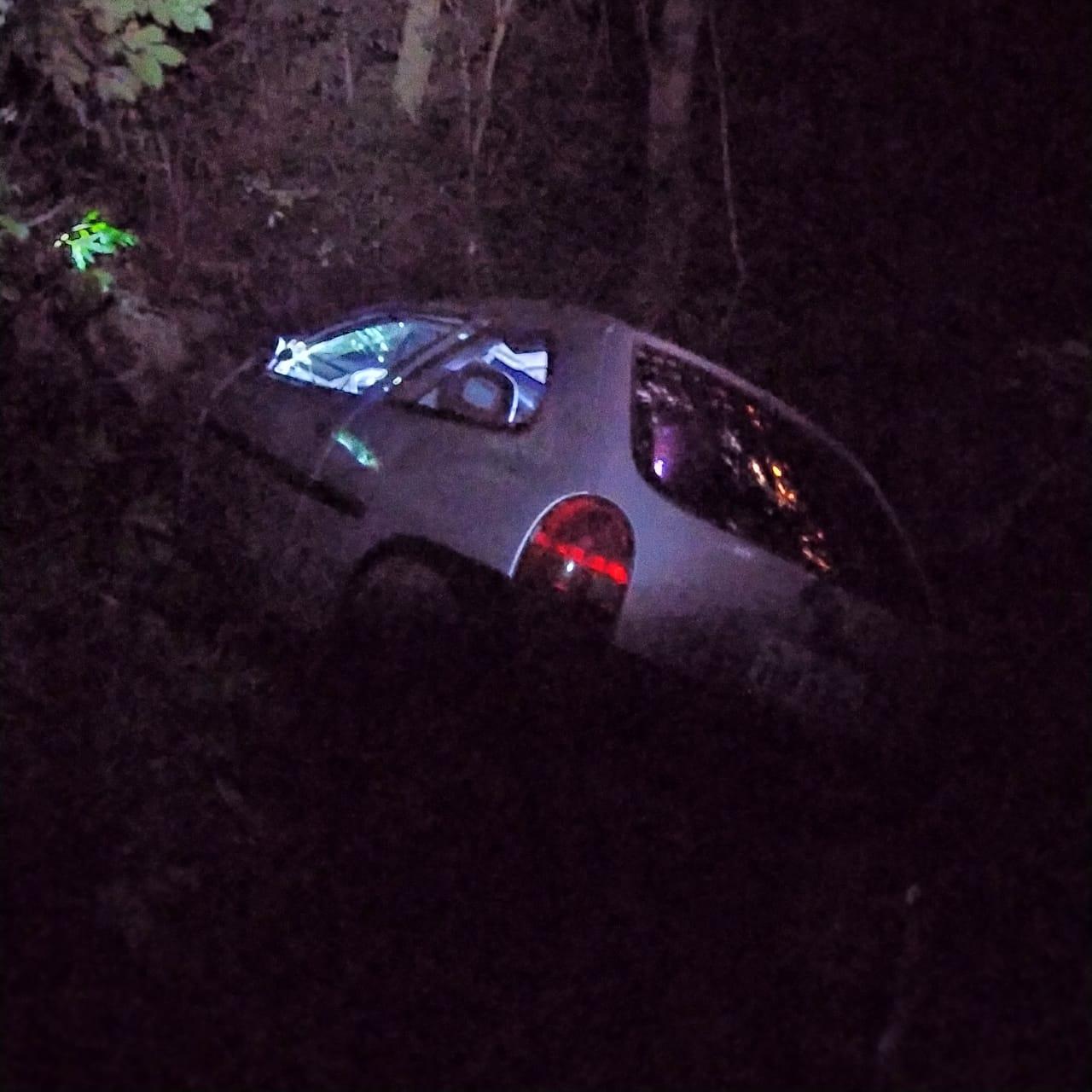 Veículo é encontrado capotado entre Colinas e Teutônia