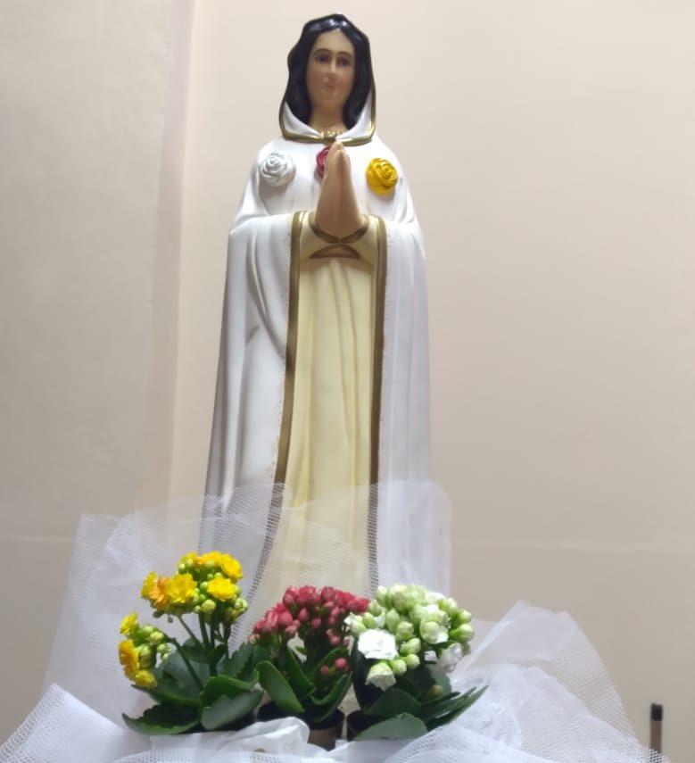 Cronograma da peregrinação da imagem de Nossa Senhora Rosa Mística